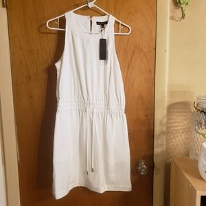 Banana republic white pocket preppy dress Nwt